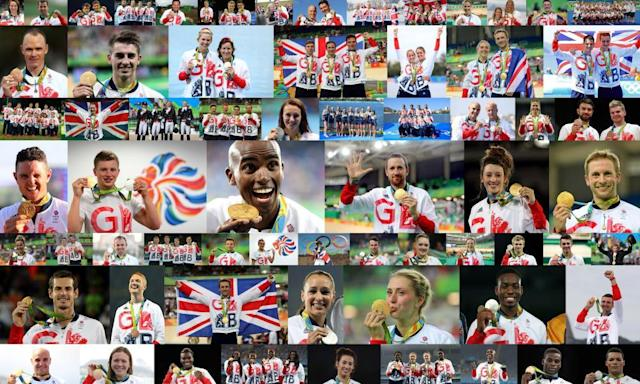 "<span class=""element-image__caption"">Team GB won 67 Olympic and 147 Paralympic medals at the Rio Games in 2016. </span> <span class=""element-image__credit"">Photograph: PA</span>"