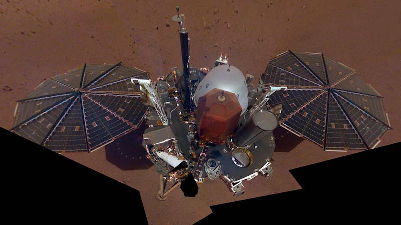 NASA's Mars lander InSight to beam back daily reports on the red planet's weather