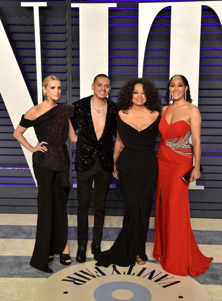 <p>Simpson married Evan Ross, Diana's son, in 2014. Since then the two stars have been family.</p>