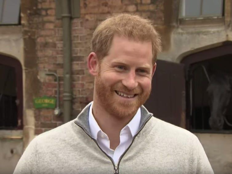 prince harry royal baby birth interview