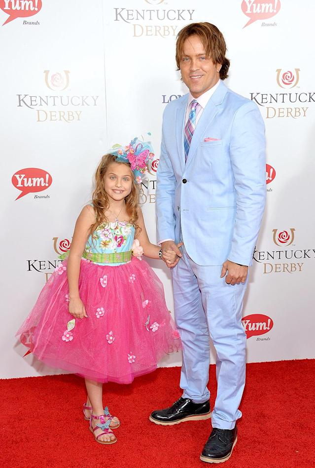 "<p>Dannielynn's adorable looks at the Kentucky Derby — including the colorful outfit she wore in 2014 — don't come easily. ""It has become a big chore to <a href=""https://www.usatoday.com/story/life/people/2015/05/04/anna-nicole-smith-daughter-dannielynn-birkhead-derby/26881559/"" rel=""nofollow noopener"" target=""_blank"" data-ylk=""slk:pick out the outfit"" class=""link rapid-noclick-resp"">pick out the outfit</a>s!"" her dad told <em>USA Today</em> in 2015. (Photo: Mike Coppola/Getty Images) </p>"