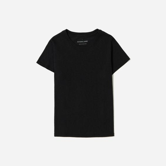 """Everlane's sale is the perfect time to snag all the basics you never get around <em>actually</em> buying. $25, Everlane. <a href=""""https://www.everlane.com/products/womens-tiny-tee-washedblack?collection=womens-sale"""" rel=""""nofollow noopener"""" target=""""_blank"""" data-ylk=""""slk:Get it now!"""" class=""""link rapid-noclick-resp"""">Get it now!</a>"""