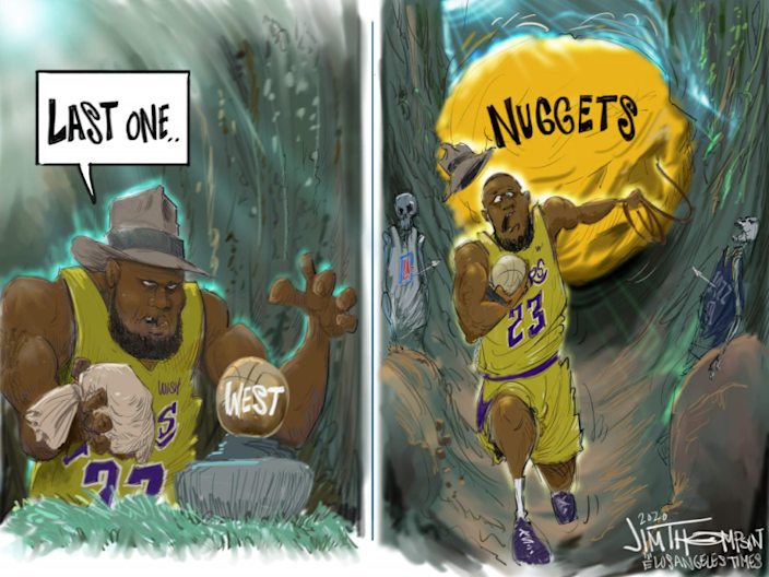 Lakers and the Denver Nuggets.