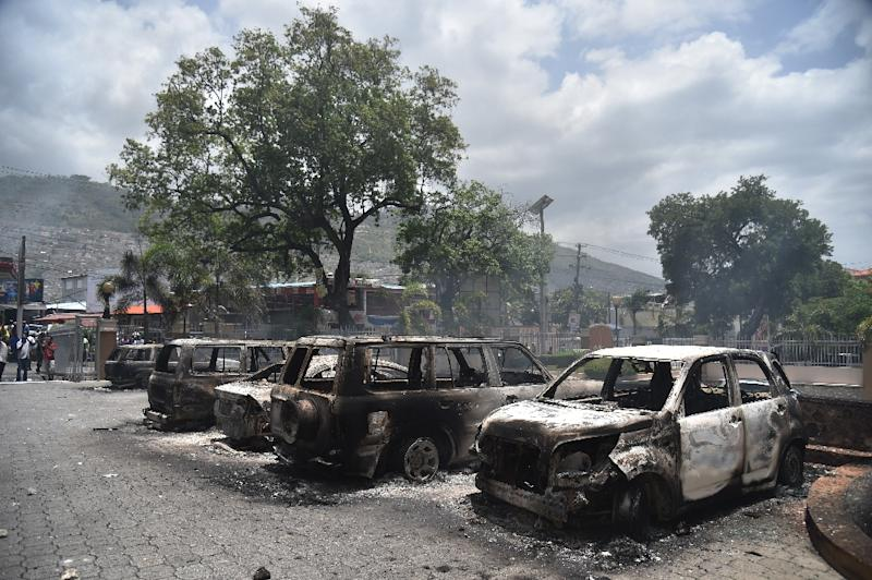 Haitian government suspends fuel price hike following fiery protests