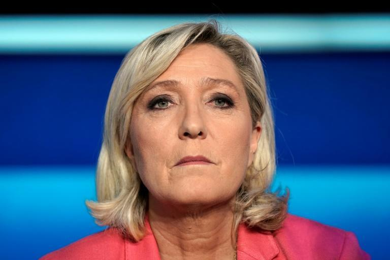 Marine Le Pen was stripped of her parliamentary immunity over the pictures