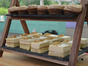 """<p>In order to allow contestants to keep their day jobs, <a href=""""https://www.asdagoodliving.co.uk/family/things-to-do/great-british-bake-off-facts"""" rel=""""nofollow noopener"""" target=""""_blank"""" data-ylk=""""slk:filming only occurs on the weekends"""" class=""""link rapid-noclick-resp"""">filming only occurs on the weekends</a>. As we previously mentioned, each episode takes two days to film and all dates are given to contestants in advance.</p>"""