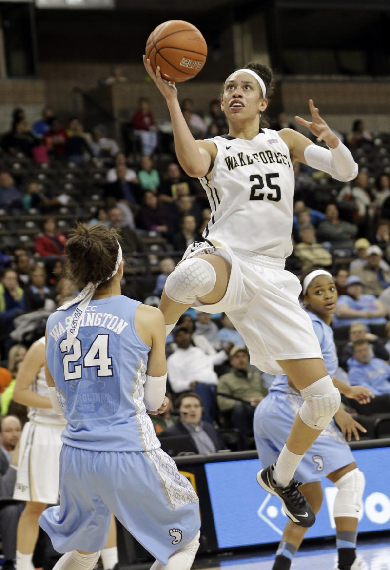 No. 7 UNC women pull away from Wake Forest, 83-65