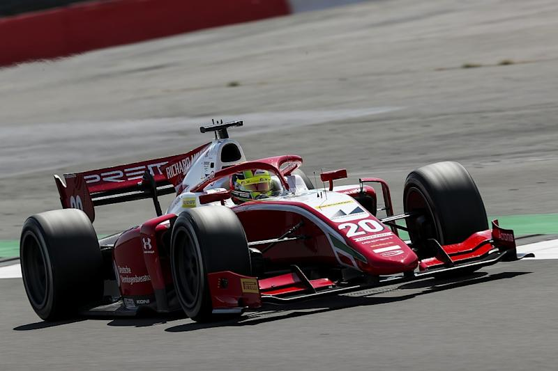 Drugovich captures maiden F2 pole at Silverstone