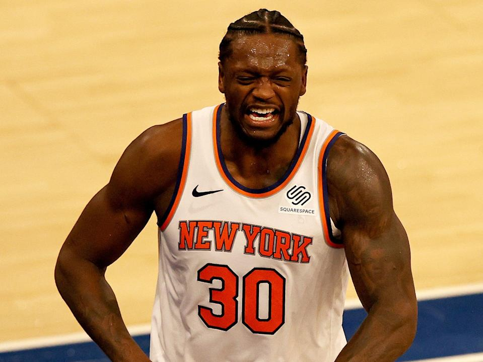 New York Knicks player Julius Randle (Getty Images)