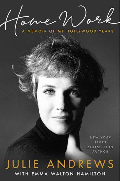 PHOTO: Julie Andrews' new book 'Home Work A Memoir of My Hollywood Years.' (Hachette Books)