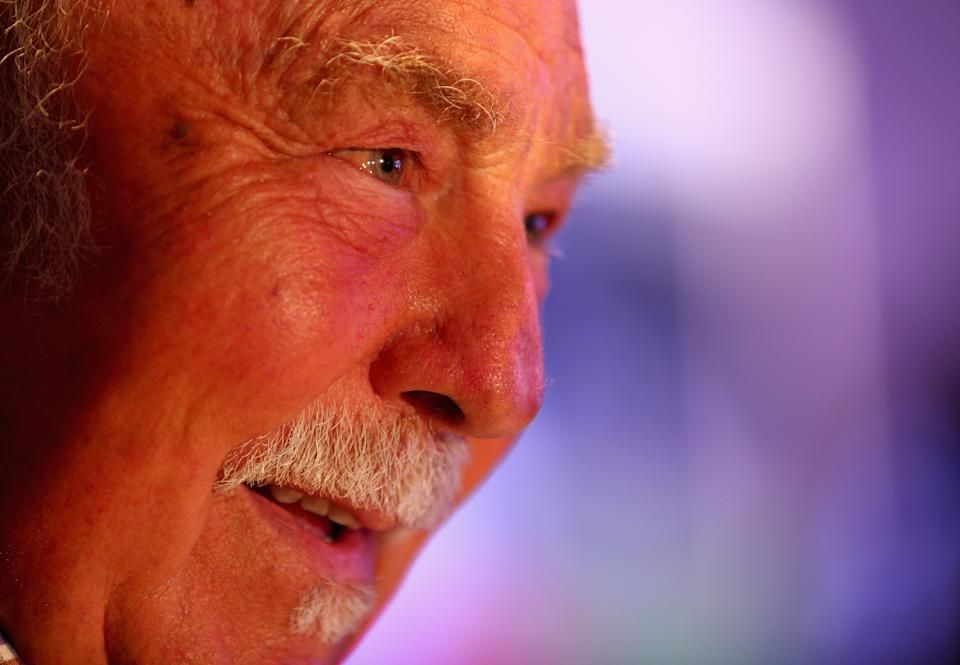 <p>Jimmy Greaves nel 2013 (Photo by Clive Mason/Getty Images)</p>