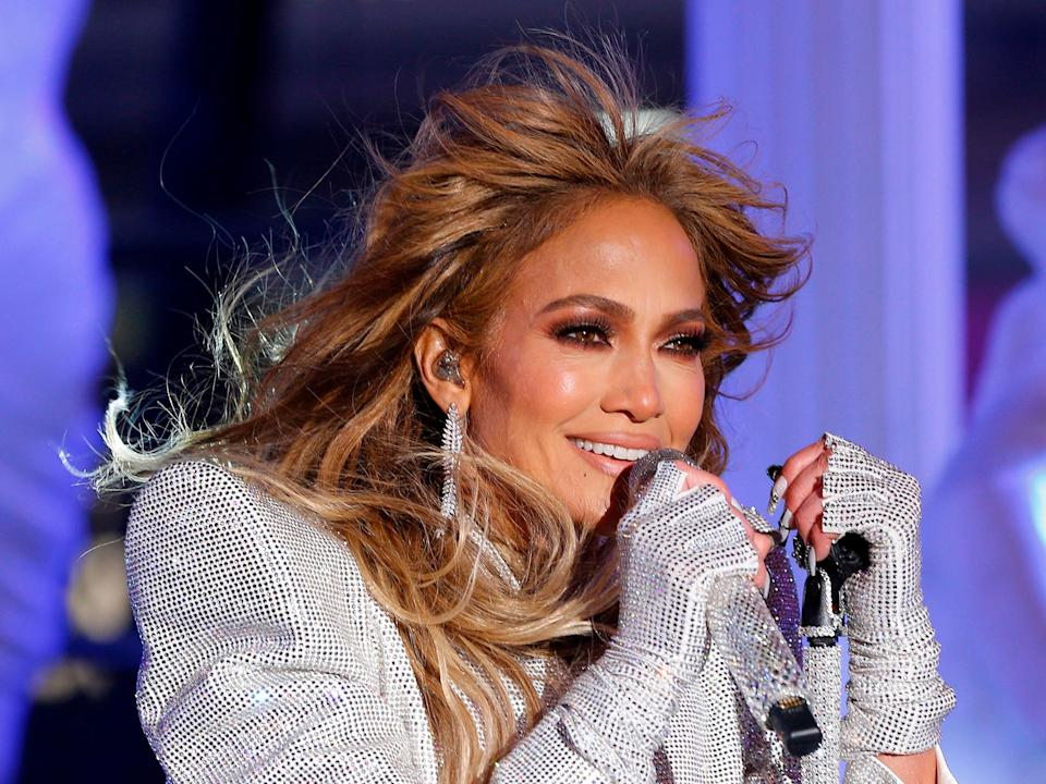 Jennifer Lopez performs in 2020 (Gary Hershorn/Getty Images)
