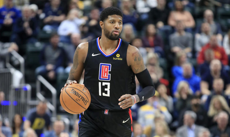 Paul George heard plenty of boos in his first return to Indiana with the Clippers. (Andy Lyons/Getty Images)