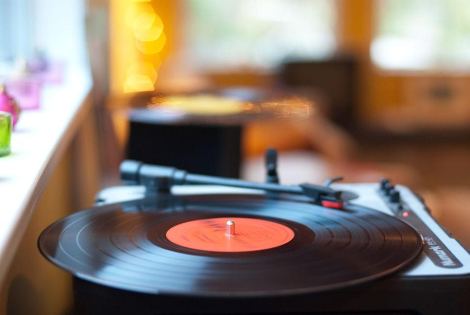 """<p>Get those discs spinning by picking out each of your favorite records that will become the soundtrack for a throwback evening. Maybe some of these <a href=""""https://www.countryliving.com/life/entertainment/a24410934/best-country-love-songs/"""" rel=""""nofollow noopener"""" target=""""_blank"""" data-ylk=""""slk:best country love songs"""" class=""""link rapid-noclick-resp"""">best country love songs</a> will make it on your list.</p><p><a class=""""link rapid-noclick-resp"""" href=""""https://www.amazon.com/Victrola-Nostalgic-Bluetooth-Turntable-Entertainment/dp/B00NQL8Z16/?tag=syn-yahoo-20&ascsubtag=%5Bartid%7C10050.g.30445302%5Bsrc%7Cyahoo-us"""" rel=""""nofollow noopener"""" target=""""_blank"""" data-ylk=""""slk:SHOP RECORD PLAYERS"""">SHOP RECORD PLAYERS</a></p>"""