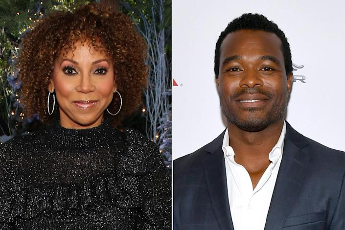 """<p><strong>Premieres: </strong>Dec. 4 at 8 p.m. ET/PT, Hallmark Movies & Mysteries</p> <p><strong>Stars:</strong> Holly Robinson Peete, Lyriq Bent, Nik Sanchez </p> <p><strong>Contains:</strong> Single mom, autistic son</p> <p><strong>Official description:</strong> """"As a single mom and her teenaged son with autism come to a crossroad during Christmas, she must learn to let go so he can flourish as she finds her own heart healing in unexpected ways.""""</p>"""