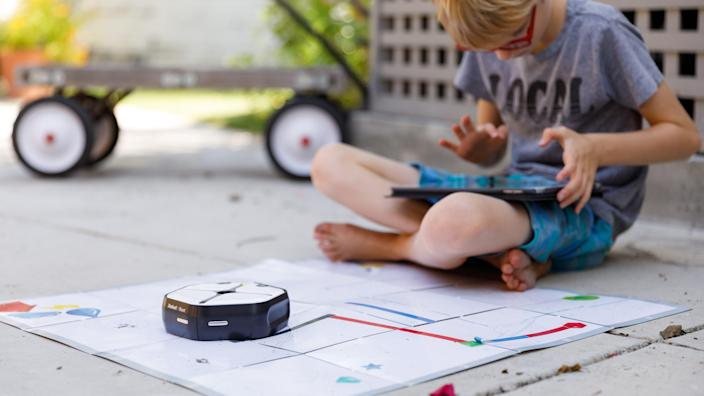 Kids can have fun and learn to code with this cool robot.