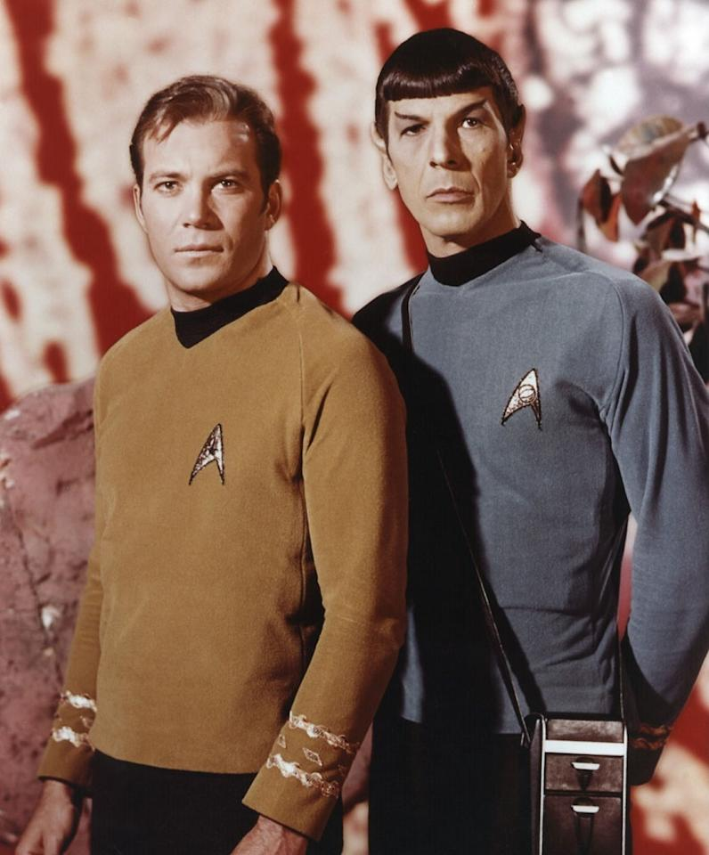 "James T. Kirk ""Captain Kirk"" and Mr. Spock (""Star Trek"")"