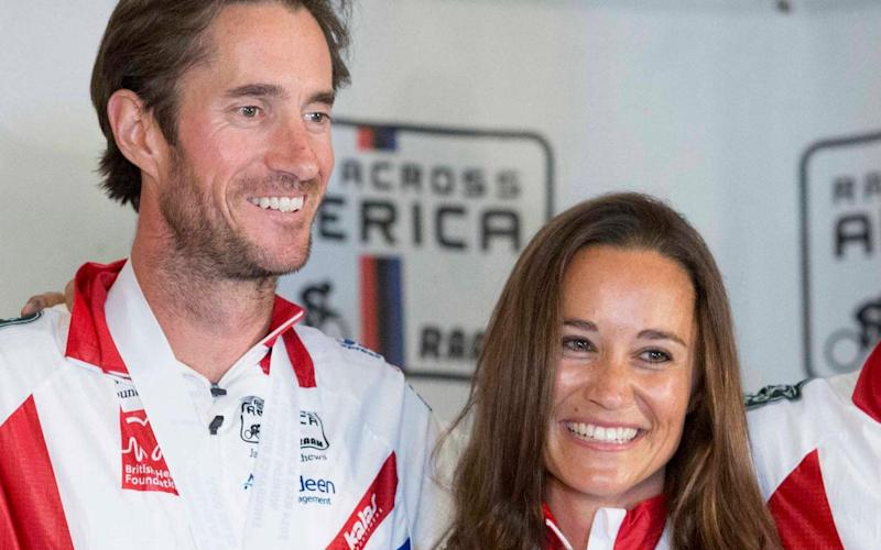 Pippa Middleton and James Matthews - EPA