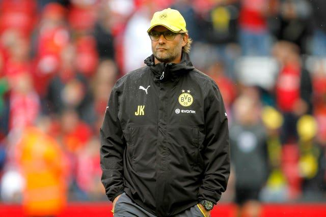 Jurgen Klopp in his time as Borussia Dortmund manager