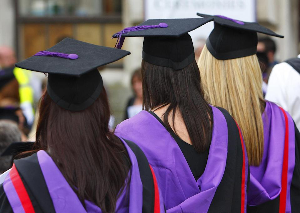 The findings come as universities are under pressure to reform their curriculum content (PA) (PA Wire)