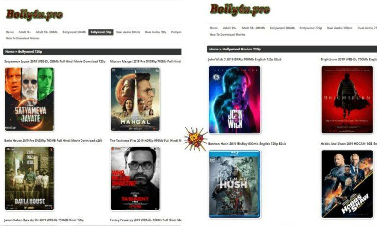 Bolly4u Website : How they Leak Movies and Download Movies in HD