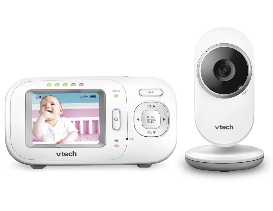 VTech® VM320 - Full Colour Video And Audio Monitor High-resolution, 2.4-inch Colour LCD