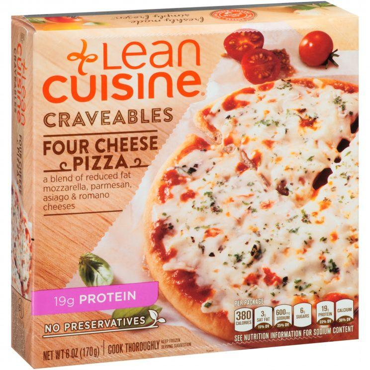 It is a graphic of Handy Lean Cuisine Ingredients Label