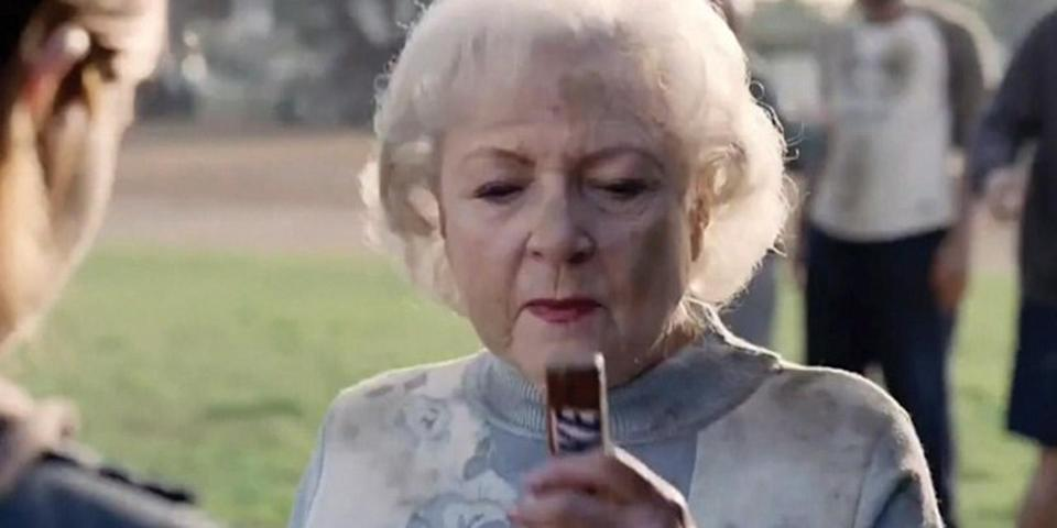 <p>in 2010, White made a hilarious cameo in a commercial for Snickers at the 2010 Super Bowl XLIV. </p>