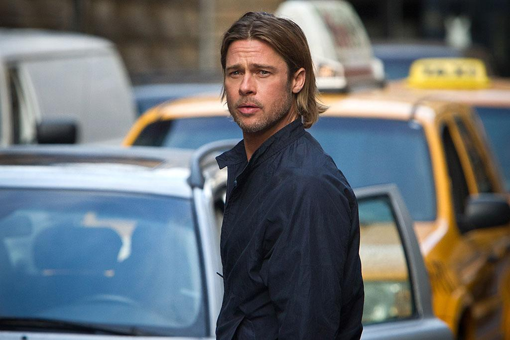 "Brad Pitt in Paramount Pictures' ""World War Z"" - 2013"