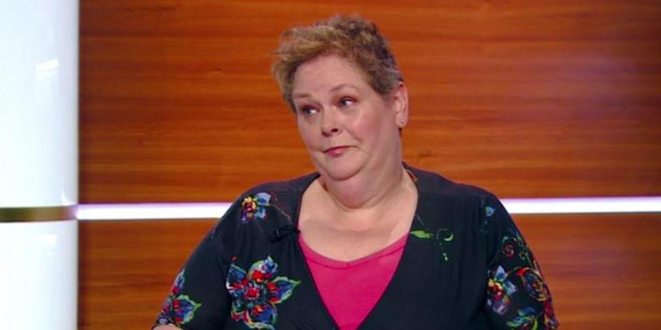 The quizmaster offended some viewers with her words. (Channel 5)
