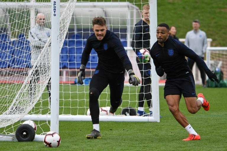 England keeper Butland joins up with Hodgson at Palace