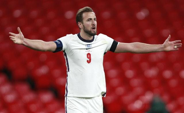Harry Kane will lead England to the European Championships if fit