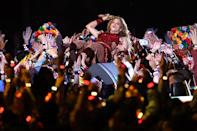 Shakira. (Photo by Al Bello/Getty Images)