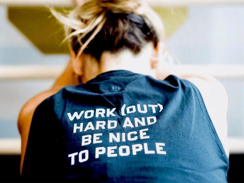 Products that motivated us to move our bodies Barry's Bootcamp