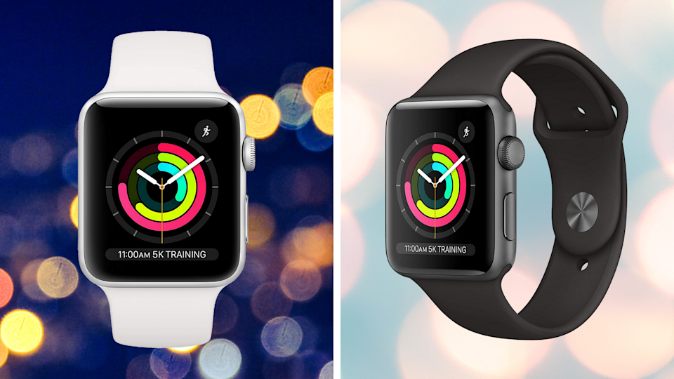 Get the Apple Watch Series 3 for just $169. (Photo: Apple)