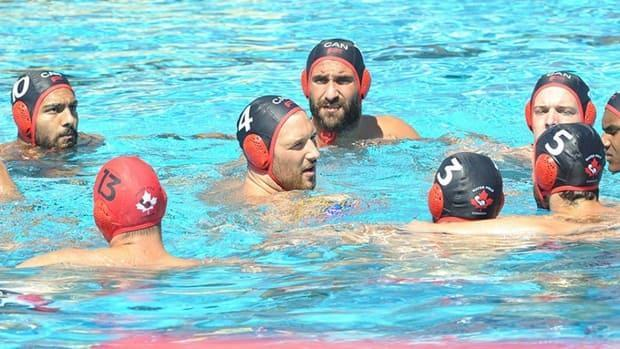 Canada tasted a 21-7 defeat against Montenegro at the FINA water polo Olympic qualifier in Rotterdam, Netherlands on Monday.