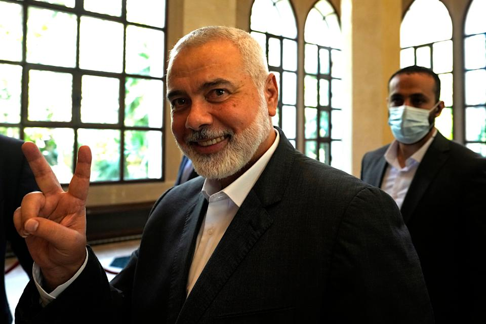Palestinians Hamas (Copyright 2021 The Associated Press. All rights reserved.)