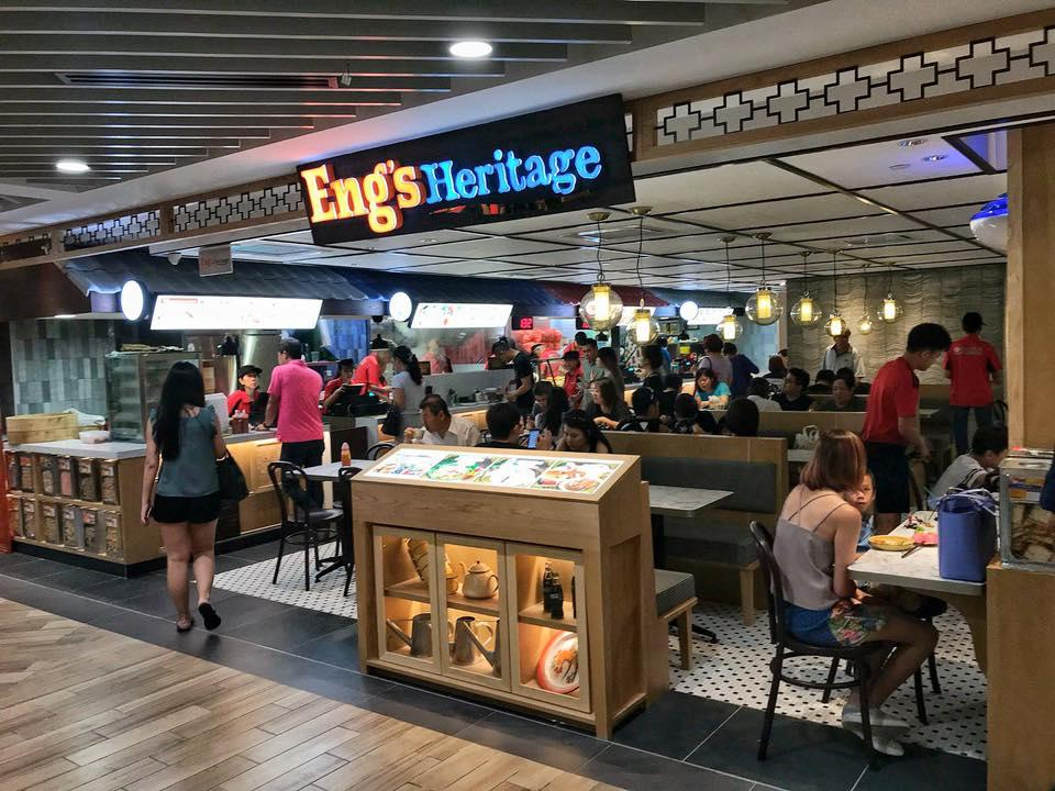 Eng's Heritage outlet located at basement one of Northpoint's North Wing. (PHOTO: Eng's Wantan Noodle/Facebook)