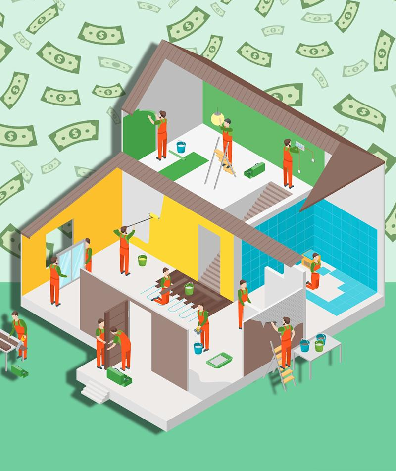 Here's What $5,000 Will Get You in a Home Remodel