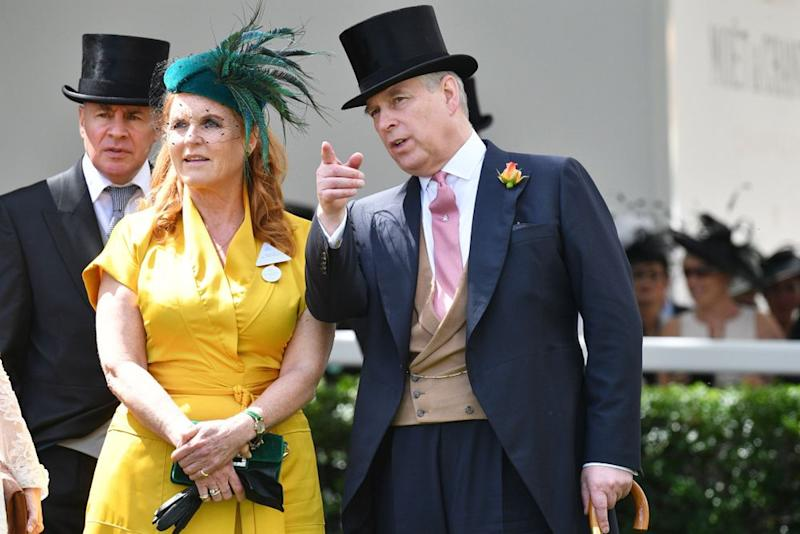 Sarah Ferguson and Prince Andrew | Tim Rooke/Shutterstock