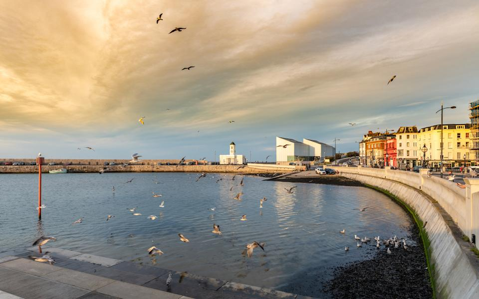 <p>The coastal town of Margate in east Kent</p> (Getty)