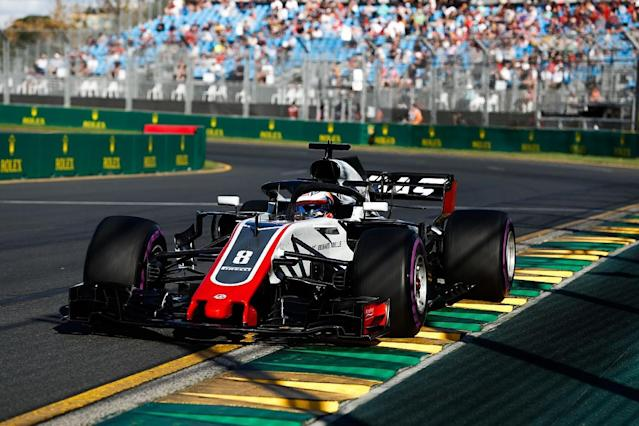 "Fernando Alonso says the Haas Formula 1 team's strong Australian Grand Prix practice form is not a surprise because it is running a ""Ferrari replica"" from 2017"