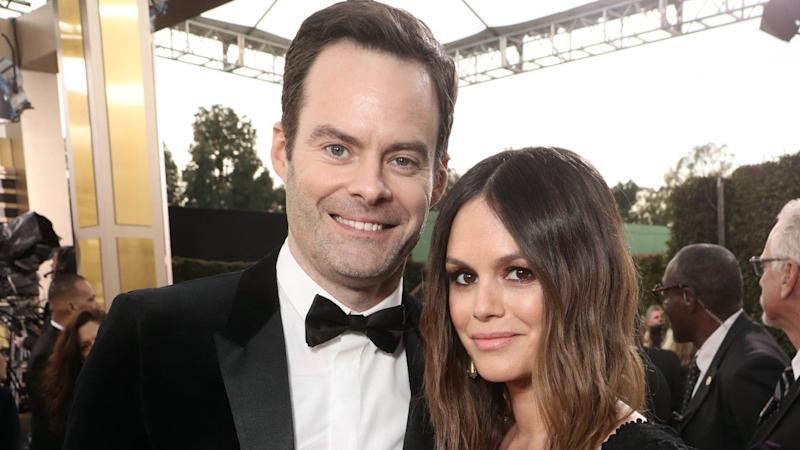 Rachel Bilson and Bill Hader Make Red Carpet Debut at Golden Globes