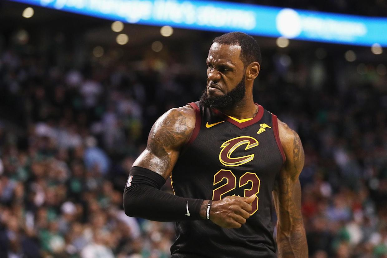 It's unlikely LeBron James wants to deal with LaVar Ball's antics. (AP)