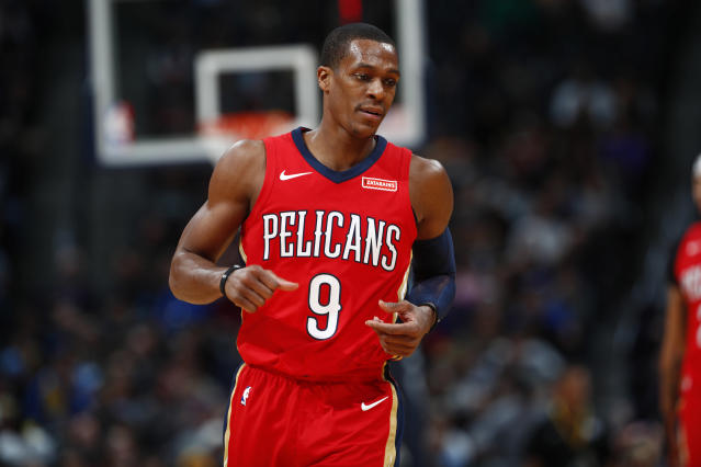 Rajon Rondo did something the NBA hasn't seen since 1996 on Wednesday night. (AP)