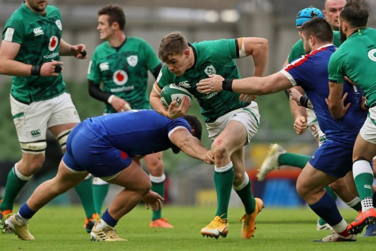 Ireland head coach Andy Farrell says centre Garry Ringrose is capable of showing he has the X factor but he needs to grab a game by the scruff of the neck