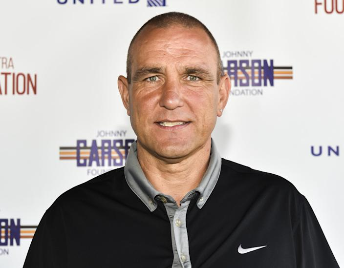BURBANK, CA - JUNE 12: Vinnie Jones attends SAG-AFTRA Foundation's 8th Annual Los Angeles Golf Classic on June 12, 2017 in Burbank, California. (Photo by Rodin Eckenroth/Getty Images)