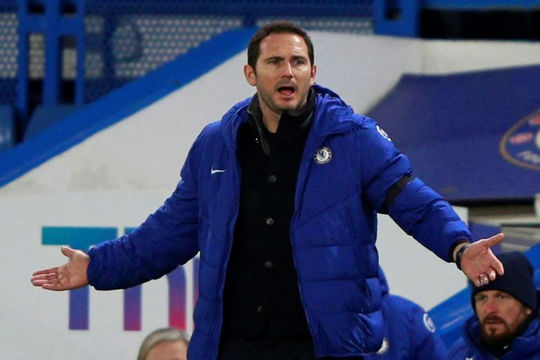 Under pressure: Chelsea manager Frank Lampard has overseen just one win in six games
