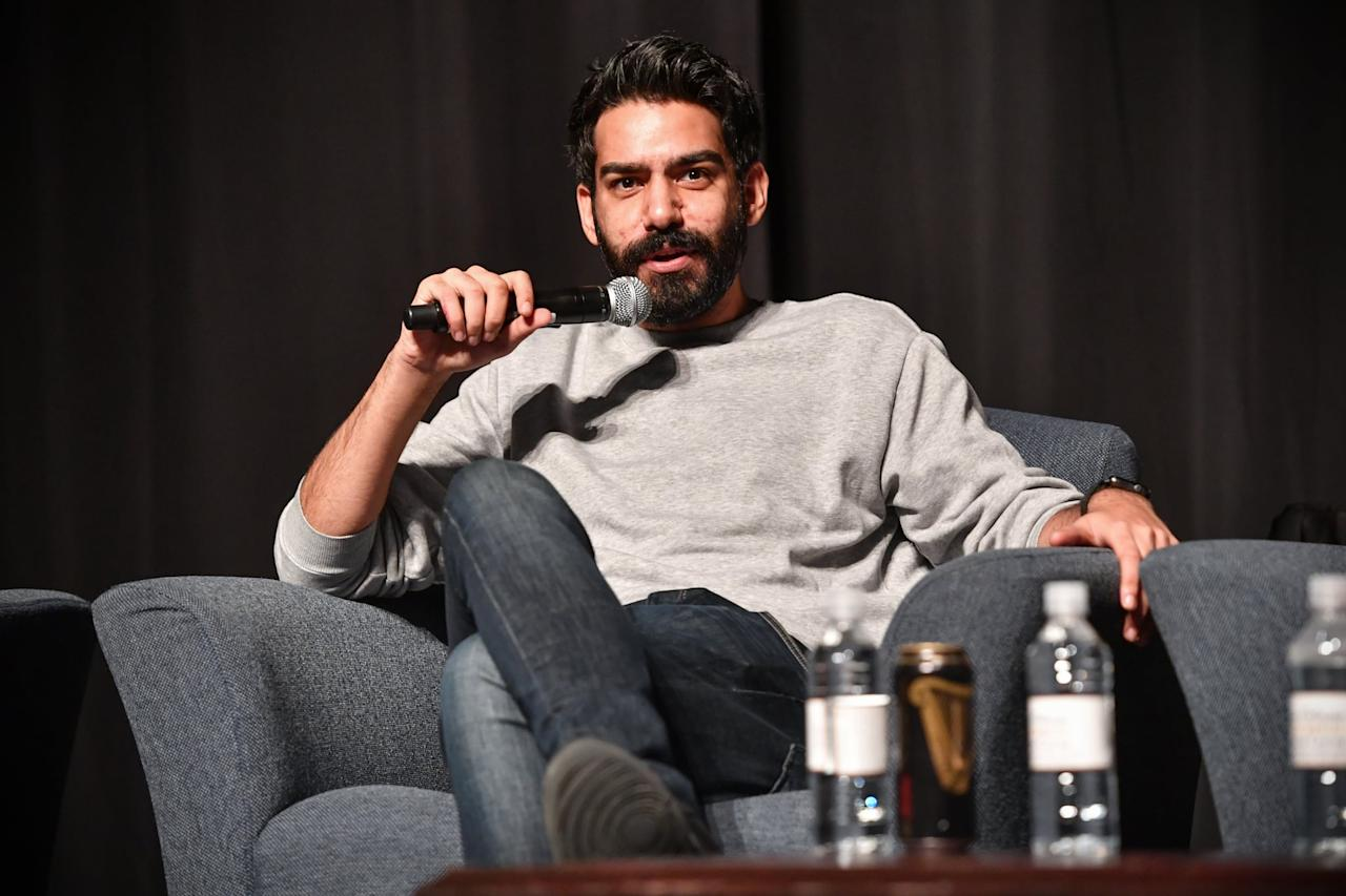 """<p>On Twitter, Rahul revealed that he likes to make playlists for the characters he's portraying. Owen's playlist, for example, included lots of '80s hits (appropriate for the era) and love songs to get him into the right mindset. </p> <p>""""A lot of them had to do with love. Lost love, or being in love with someone and not being able to communicate it properly,"""" he <a href=""""https://www.vulture.com/article/rahul-kohli-haunting-of-bly-manor-owen-interview.html"""" target=""""_blank"""" class=""""ga-track"""" data-ga-category=""""internal click"""" data-ga-label=""""https://www.vulture.com/article/rahul-kohli-haunting-of-bly-manor-owen-interview.html"""" data-ga-action=""""body text link"""">told Vulture</a>. """"Obviously, everyone can relate - whether it's high school, or when you're older - to knowing that the person you're looking at could potentially be the love of your life. And you could have this incredible future together . . . but it's not happening. It's just not happening. I felt that Owen, in that time period, his release would be to throw on some '80s pop.""""</p> <blockquote class=""""twitter-tweet""""><p lang=""""en"""" dir=""""ltr"""">Don't know if anyone cares but I like to make playlists for characters I'm portraying. I usually start picking songs during prep that I'll listen to throughout shooting. Here was Owen's playlist 💕. <a href=""""https://twitter.com/hashtag/TheHauntingofBlyManor?src=hash&amp;ref_src=twsrc%5Etfw"""">#TheHauntingofBlyManor</a> <a href=""""https://t.co/qpOmaOZskv"""">pic.twitter.com/qpOmaOZskv</a></p>- Rahul Kohli (@RahulKohli13) <a href=""""https://twitter.com/RahulKohli13/status/1315453045824659456?ref_src=twsrc%5Etfw"""">October 12, 2020</a></blockquote>"""