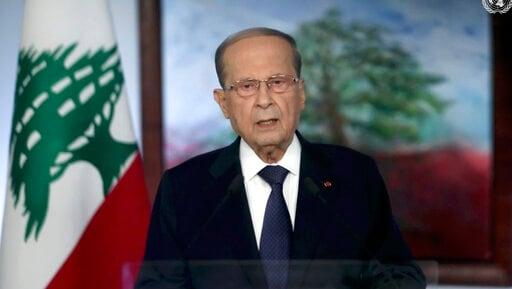 Lebanon Asks World's Help 'Trying To Rise From Its Rubble'